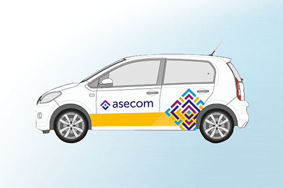 Asecom auto ontwerp