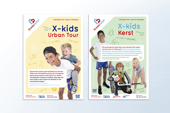 Breda Actief X-kids ontwerp