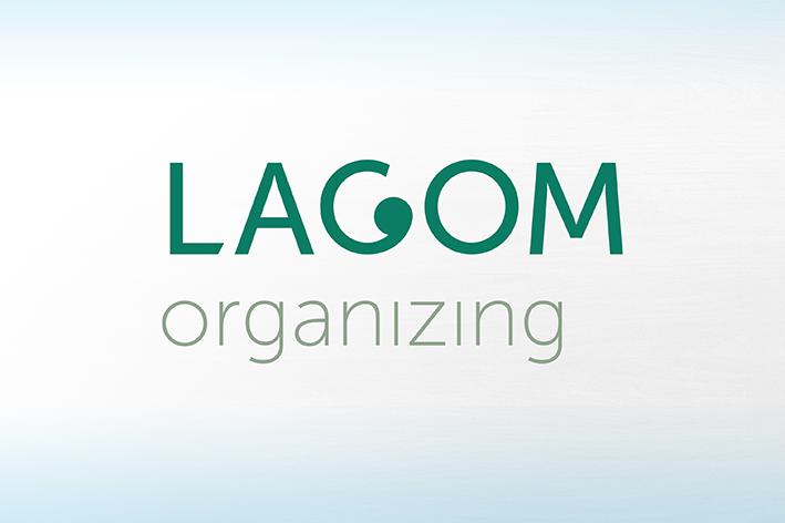 lagom organizing logo huisstijl